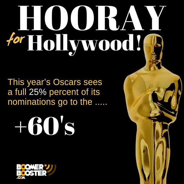 """After years of complaints that Hollywood is no place for an ageing actor, this year's Oscars sees a full 25 percent of its actor nods go to the over 60's.  With Glenn Close, 71, a frontrunner for Best Actress in a Leading Role (The Wife), she is joined by Viggo Mortensen, 60 (Green Book), and Willem Dafoe, 63 (At Eternity's Gate) both nominated for Best Lead Actor, while Sam Elliot, 74 (A Star is Born), and Richard E Grant, 61 (Can You Ever Forgive Me?), received Supporting Actor nods.   Meanwhile, the Golden Globes awarded Michael Douglas, 74, with Best Actor in a TV Series/Musical or Comedy for his performance in Netflix' ageing buddy series The Kominsky Method. The show also earned the golden gong for Best TV Series/Musical or Comedy.  Unsurprisingly, Close took home the Globe for Best Actress in a Motion Picture/Drama for her heart-breaking performance in The Wife, as a woman who silently allows her Nobel prize-winning author husband to take credit for her work.  So what does this all mean?  """"It means that this is the golden age for talented older actors,"""" declares producer Harrison Powell, set to release his retirement community romantic comedy, Welcome to Pine Grove, later this year. More from the link in the comments"""