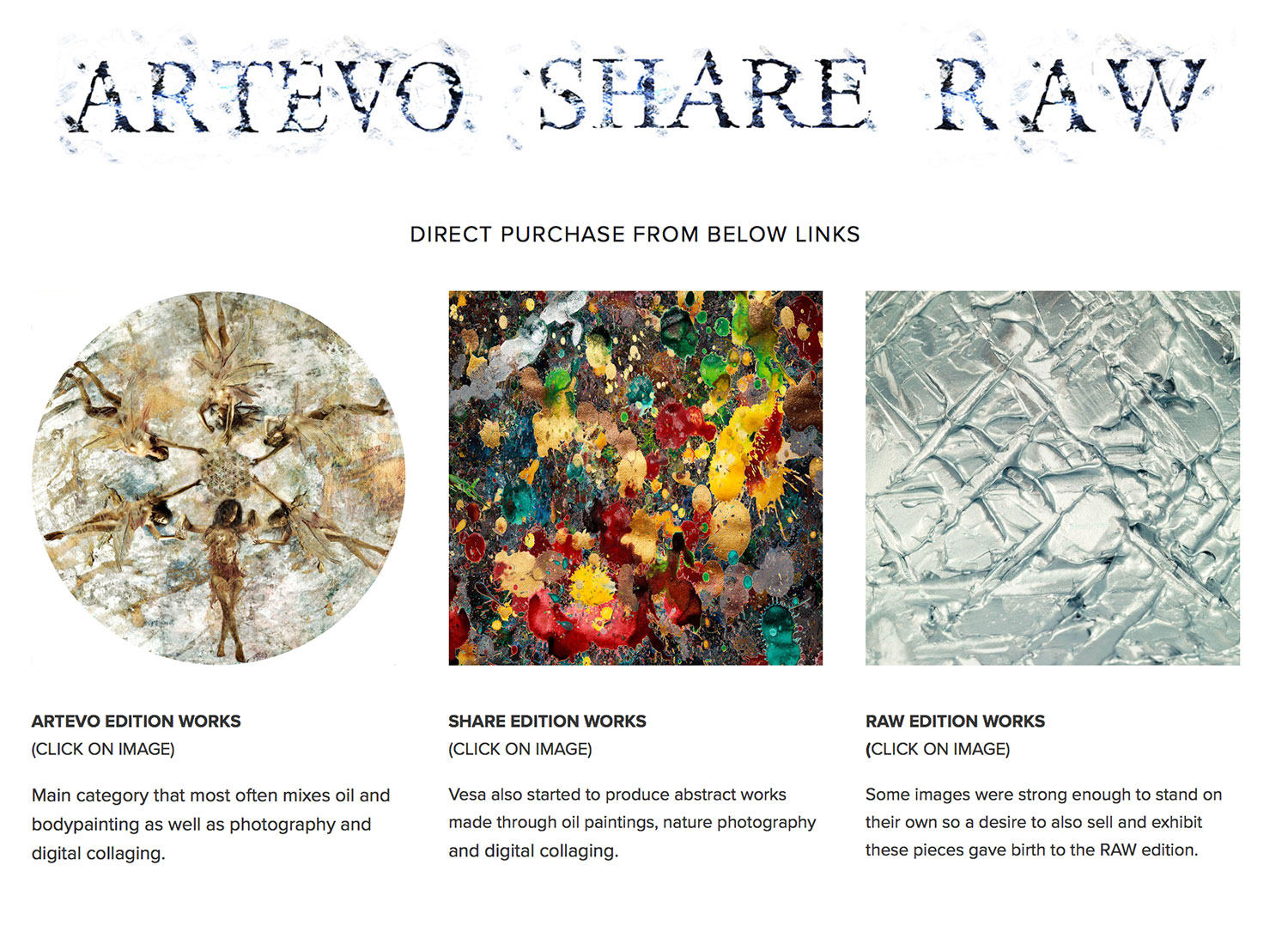 By Clicking this image you will directed to the Artevo main site, Enquire direct from us on availability via cryptocurrencies.