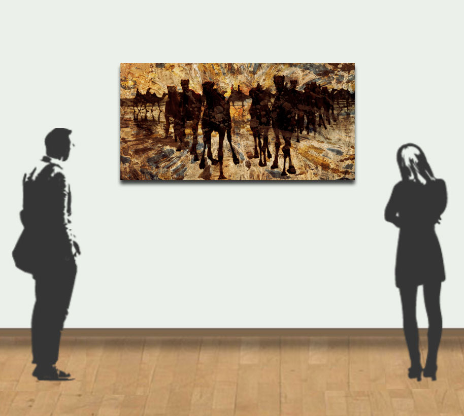 Demo example of a 150x75cm (60x30in) piece