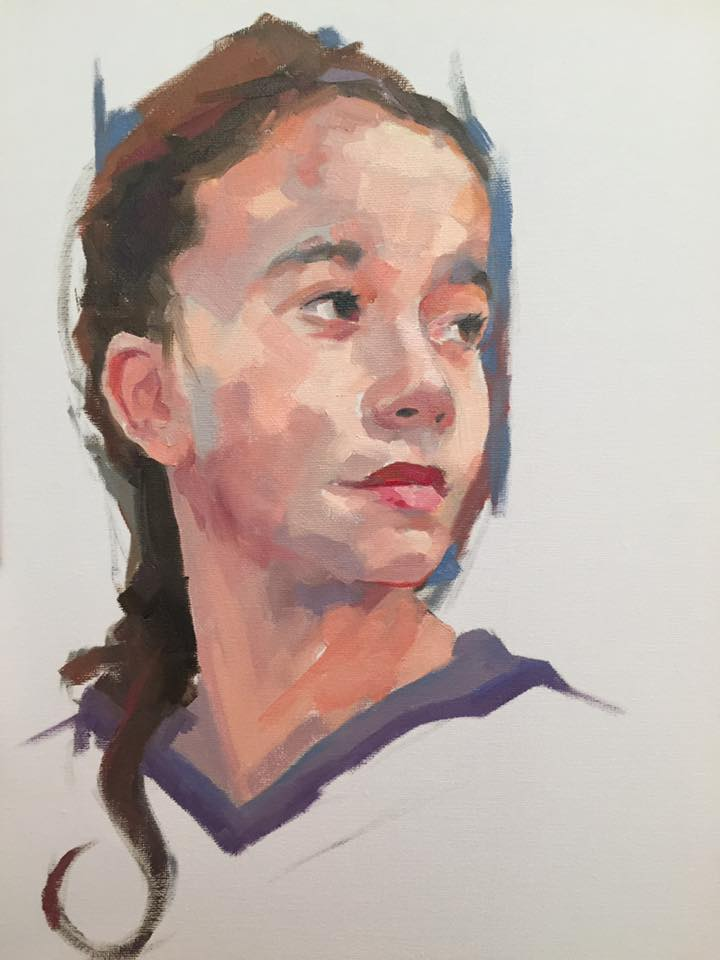 Portrait of Chloe
