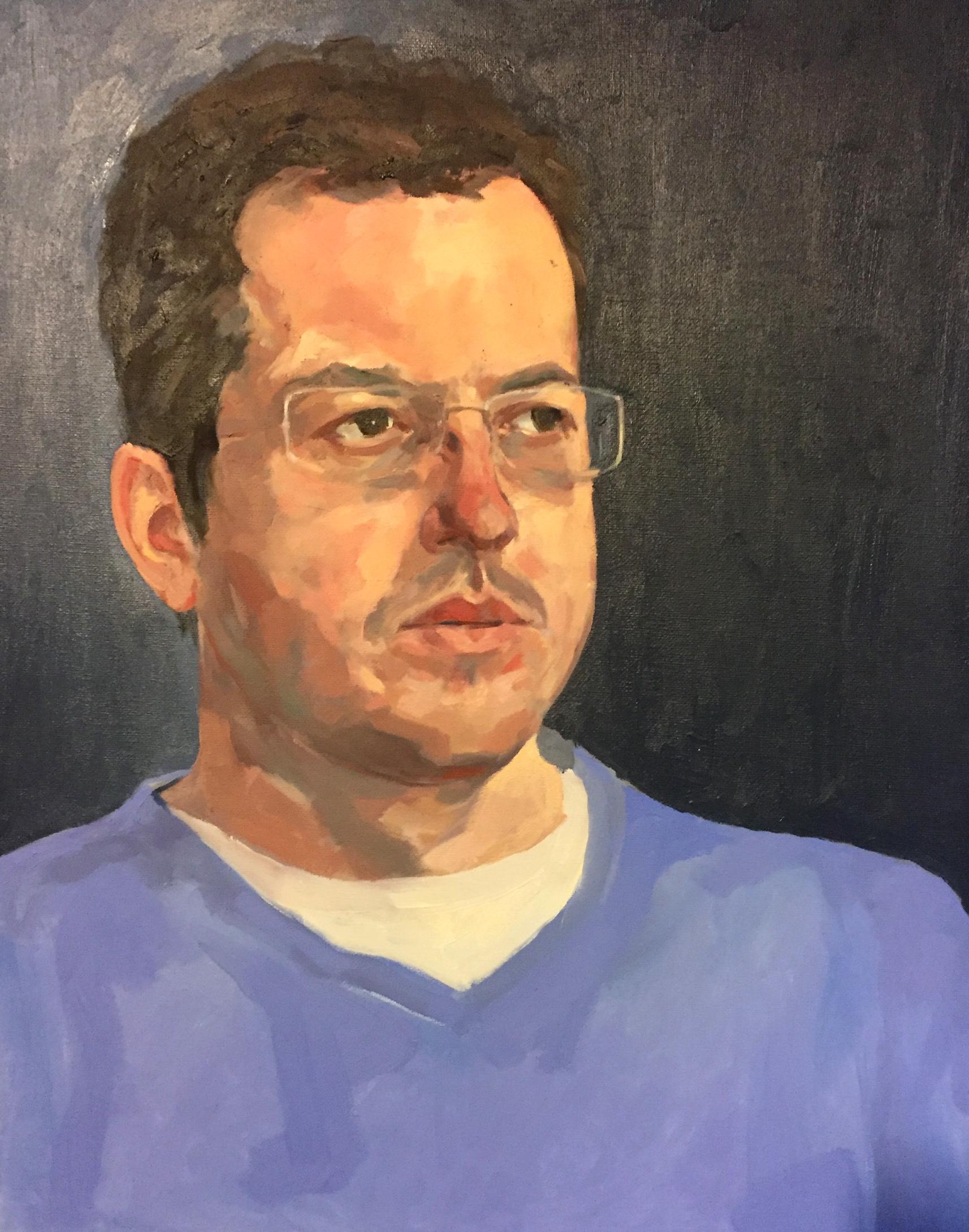 Portrait of Paul Wuensche