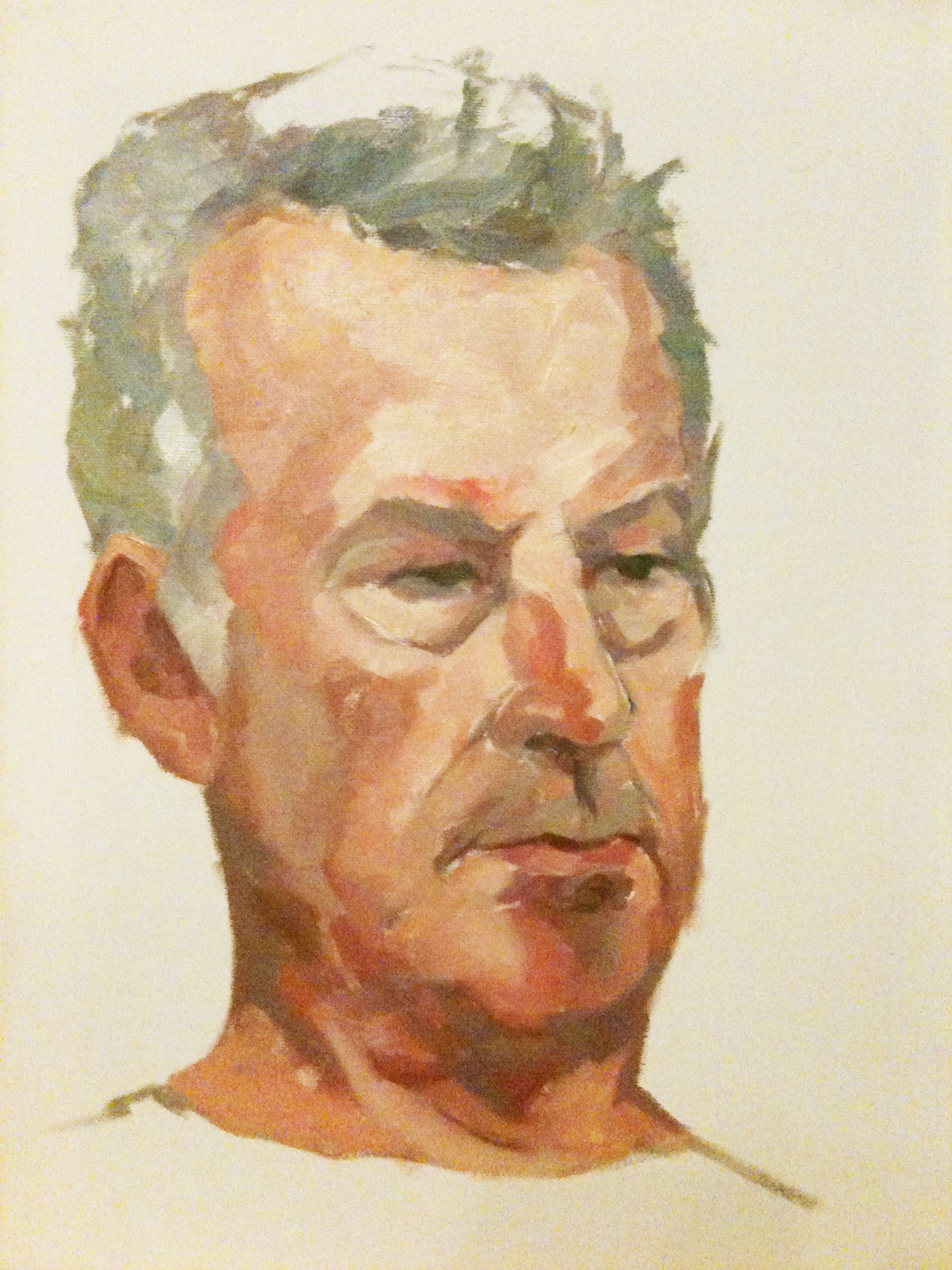 Portrait of Francis Bowyer PPRWS, NEAC