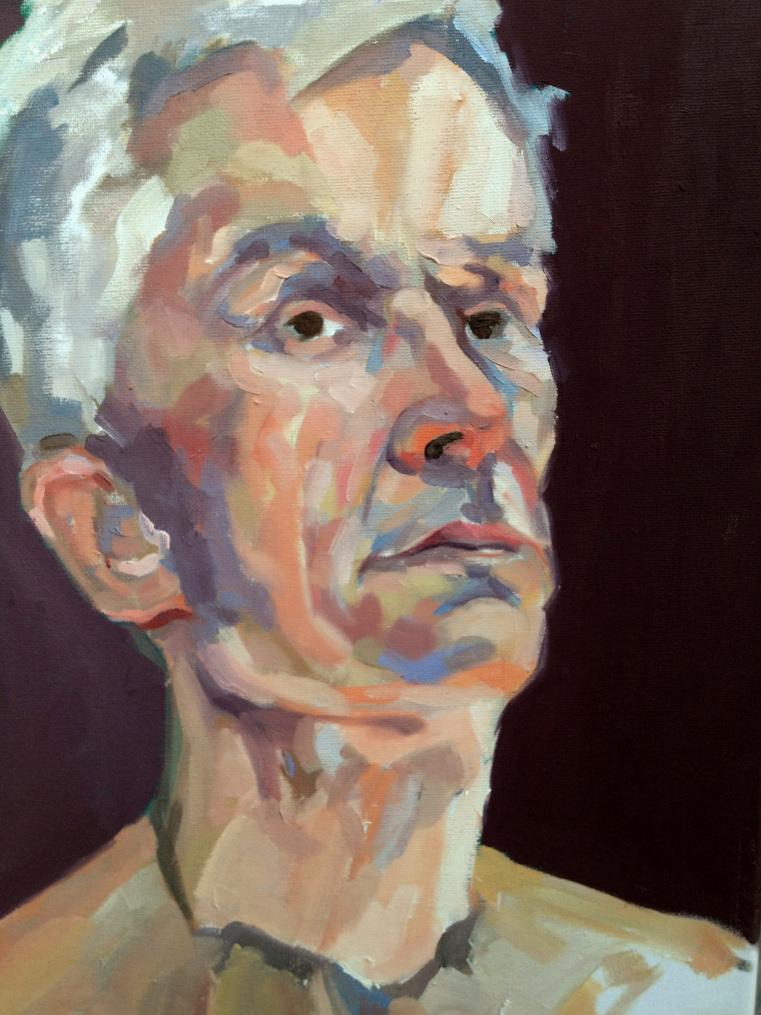 Portrait of Hugh Barnden RA