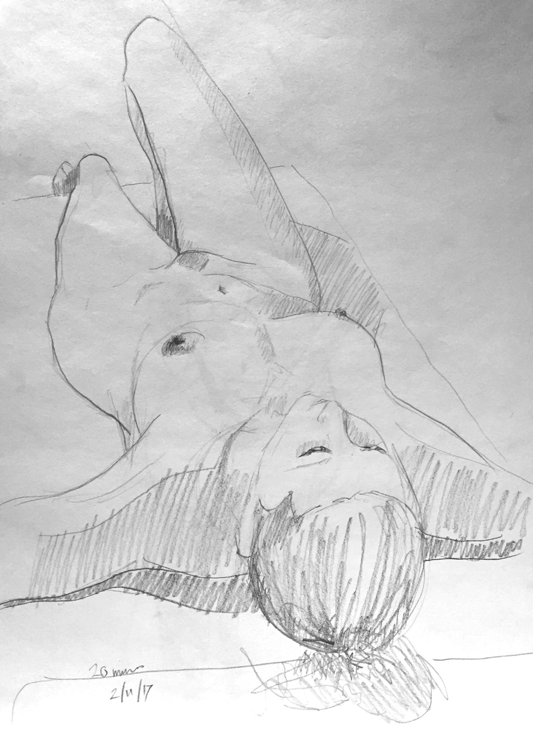 Life Drawing Sketch Session 2/11/17