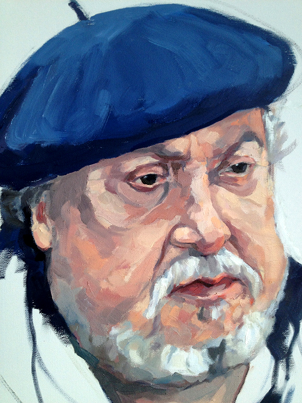 Portrait of Nabil Ahmed the Artist