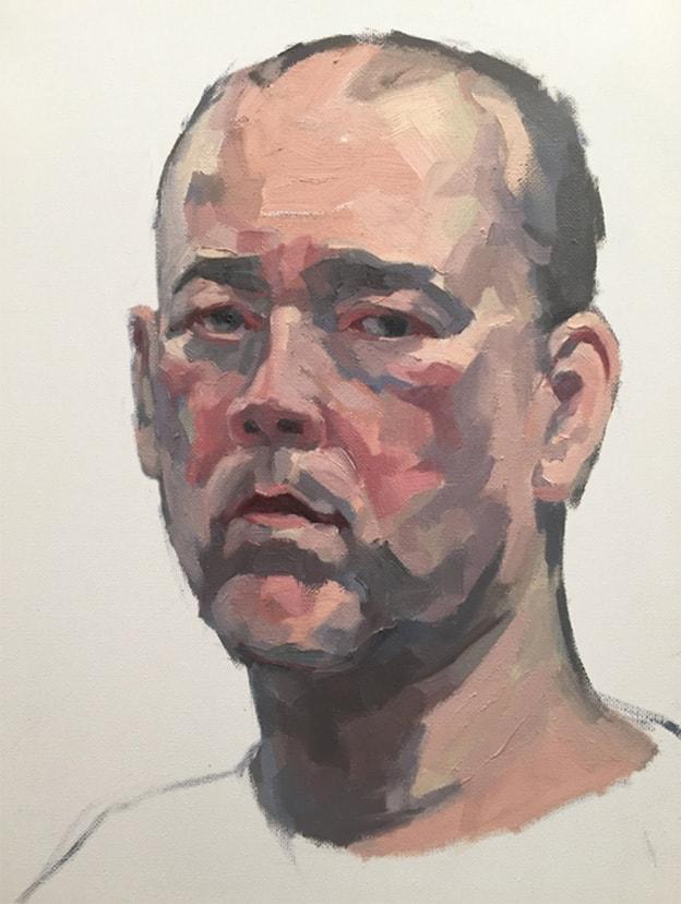 Self Portrait 2018 WIP