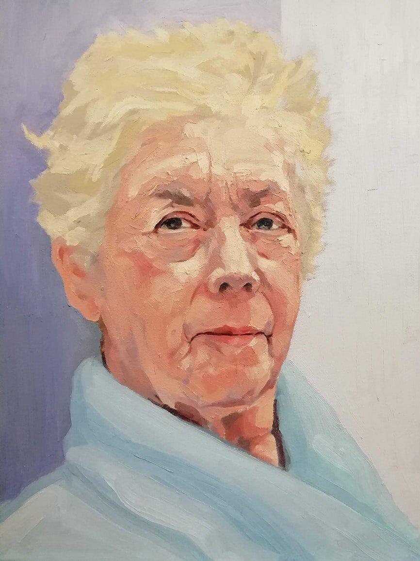 Portrait of my Mum