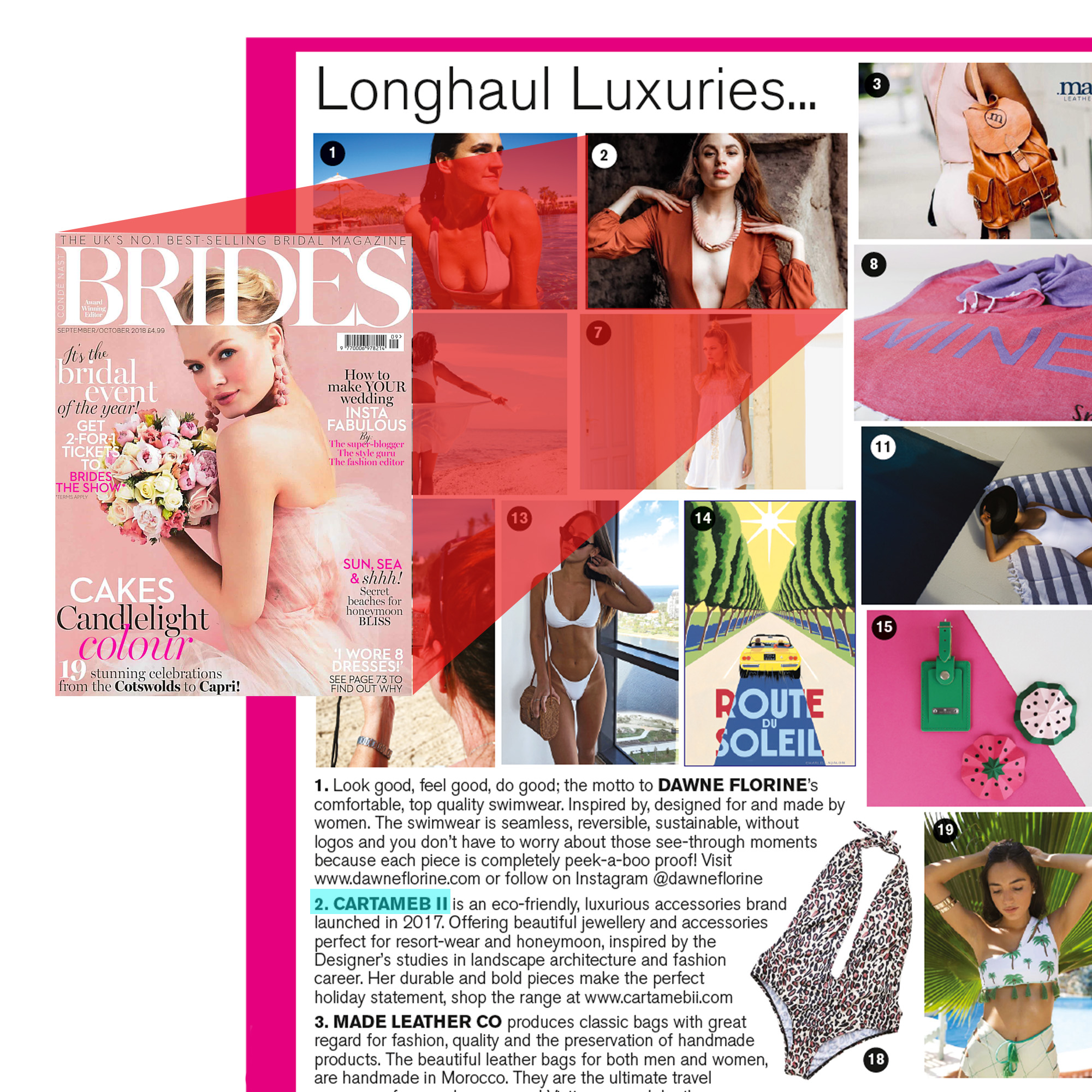 Brides UK Magazine   Longhaul Luxuries, Jewellery and Accessories for the Honeymoon featuring  Sunkissed Sky Necklace