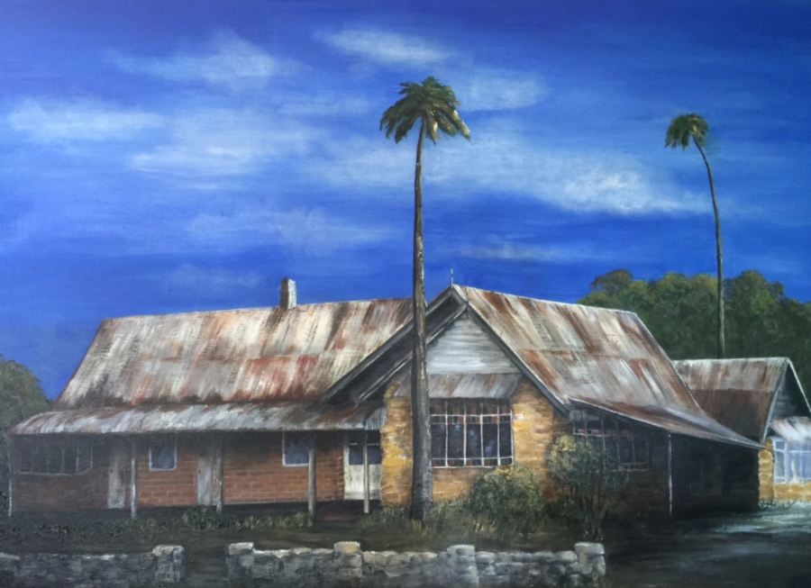 Appin Inn 120cm x 90xm Commission SOLD