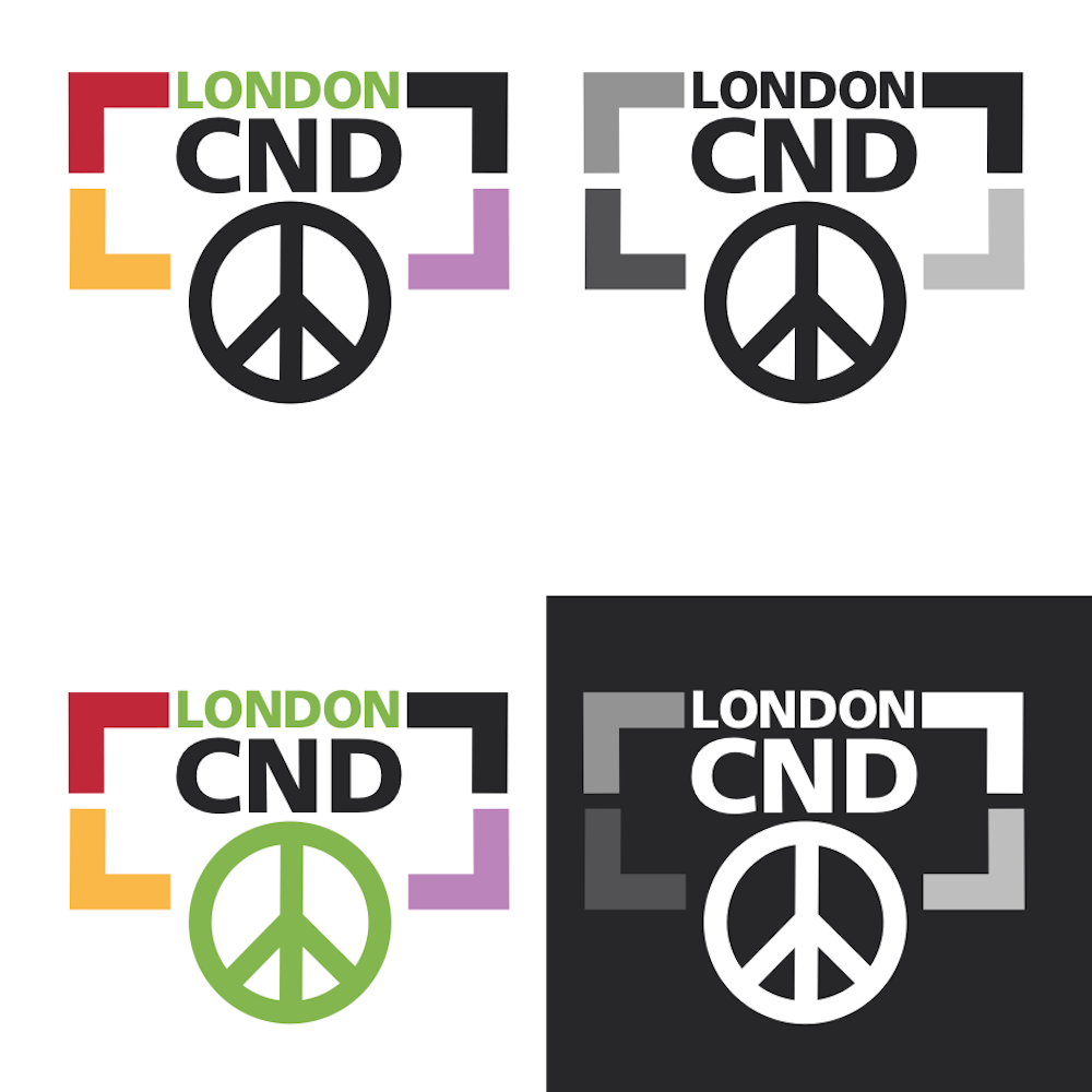 Download London CND Logos - Download four styles of London CND logos, designed by our designer Jenni.