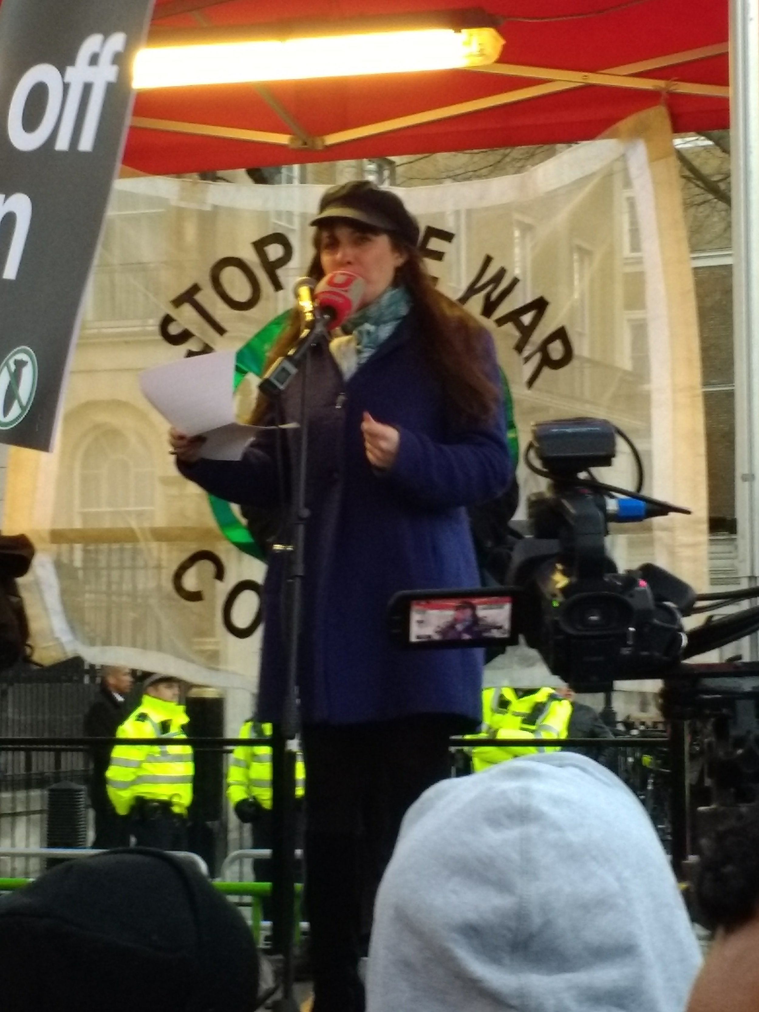 Green Party Deputy Leader Amelia Womack