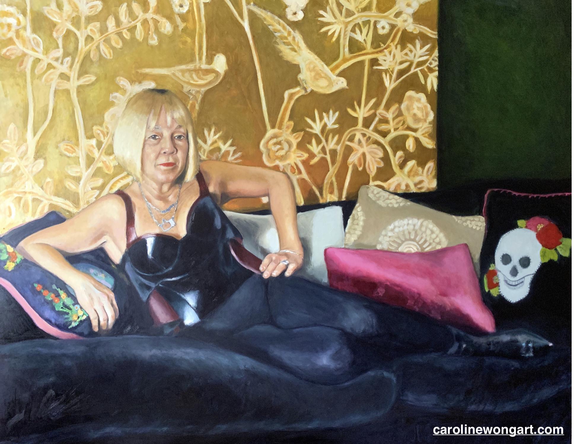 Smoke & Flowers (Cindy Gallop)