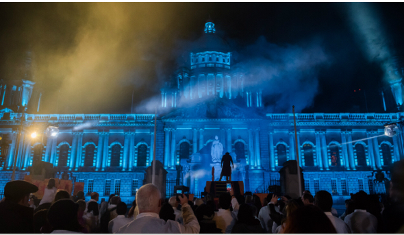 Nine Nights Belfast City Hall 24th October 2015