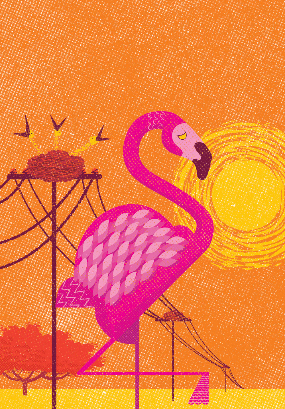 Cover illustration for Wine Republic magazine, Argentina.