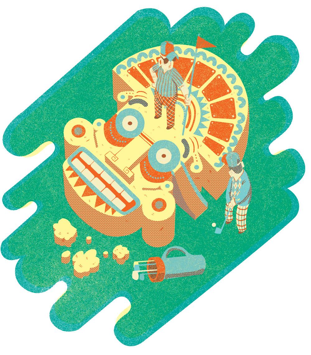 Editorial illustration for Wine Republic magazine, Argentina.