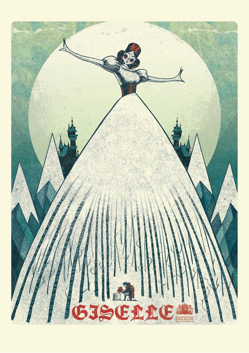 Poster, Royal Birmingham Ballet Company.