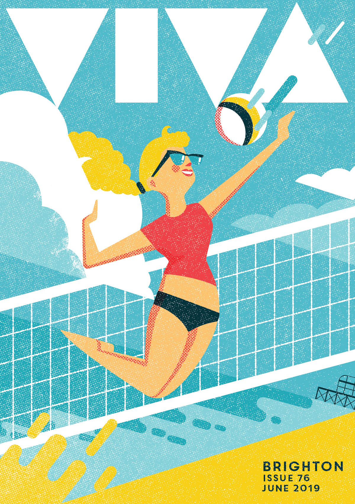 Viva Brighton magazine cover