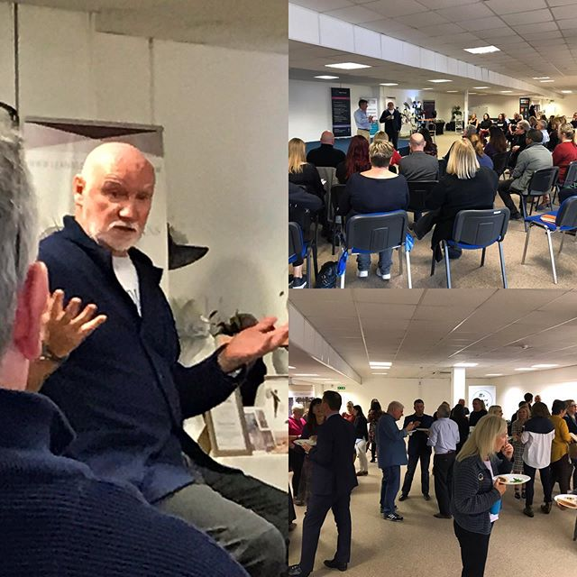 Never get tired of hearing this fella speak so passionately about business & the potential Scotland has for being at the forefront of entrepreneurship. I'd say over thirty people got up today & pitched their business covering various sectors from retail, digital research & marketing, health & wellbeing and education among others. It's a real privilege to be part the #westcoastaccelerator #🙏#sirtomhunter #sirtomhunterfoundation #business #pitching #enterpreneur #entrepreneurship #scotland #scottishbusiness #ayrshire #ayrshirebusiness #speaking #elovatorpitch #dyadproperty #🏘