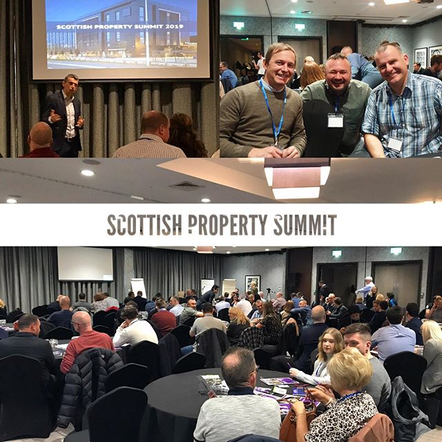 Scottish Property summit 2019  #networking #learning #property #investment #strategy #community #together #dyadproperty #glasgow #scotland #investinscotland #future #opportunity #🏘 #friends
