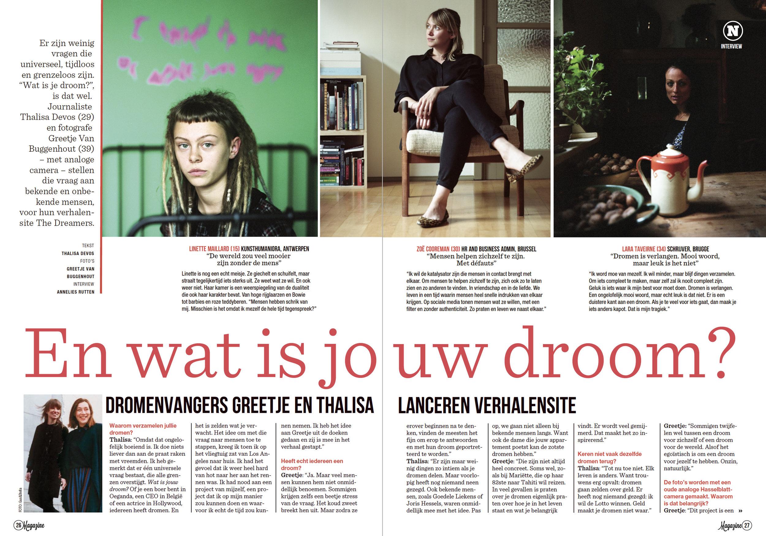 Het Nieuwsblad Magazine