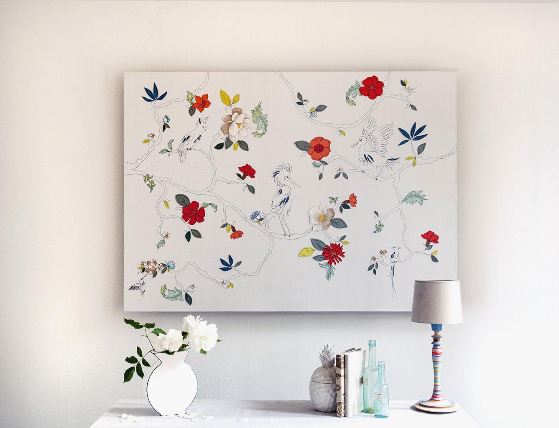 Claire Coles -tropical garden Panel.jpg