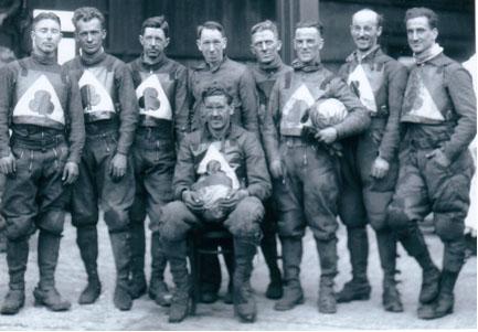 belle vue aces 1936 - Bill Kitchen, Max Grosskreutz, Oliver Langton, Acorn Dobson, Eric Langton (capt.), Tommy Price, Joe Abbott, Bob Harrison, Frank Varey.