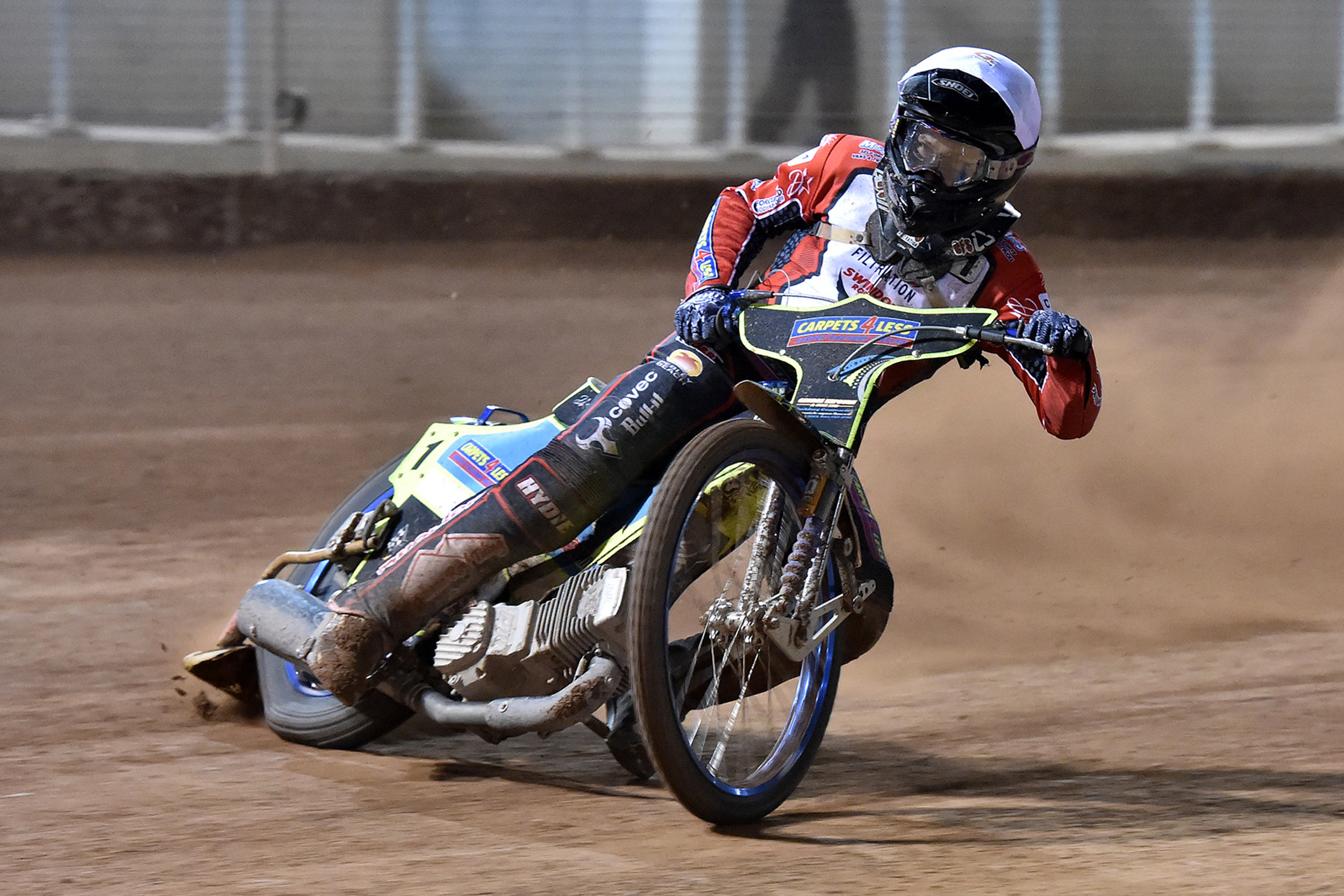Nick Morris began his speedway career at Belle Vue's neighbouring track, Buxton