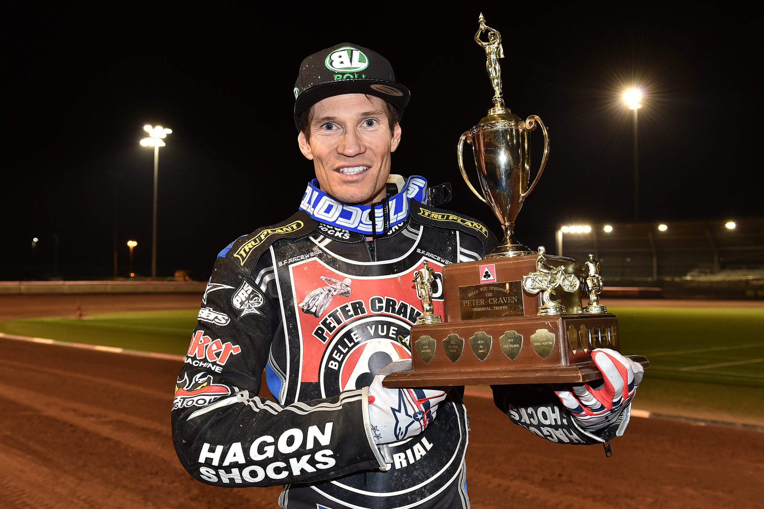 Peter Craven Memorial winner Jason Doyle, the first rider since Jason Crump to take back-to-back victories