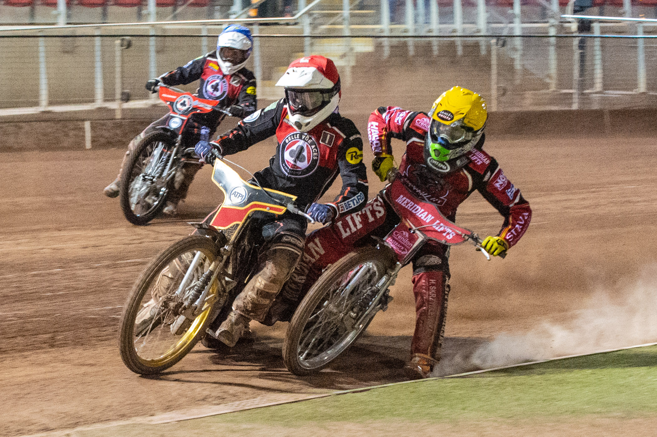 Max Fricke dominated the scoreboards once again for Belle Vue, dropping just one point from his five rides.