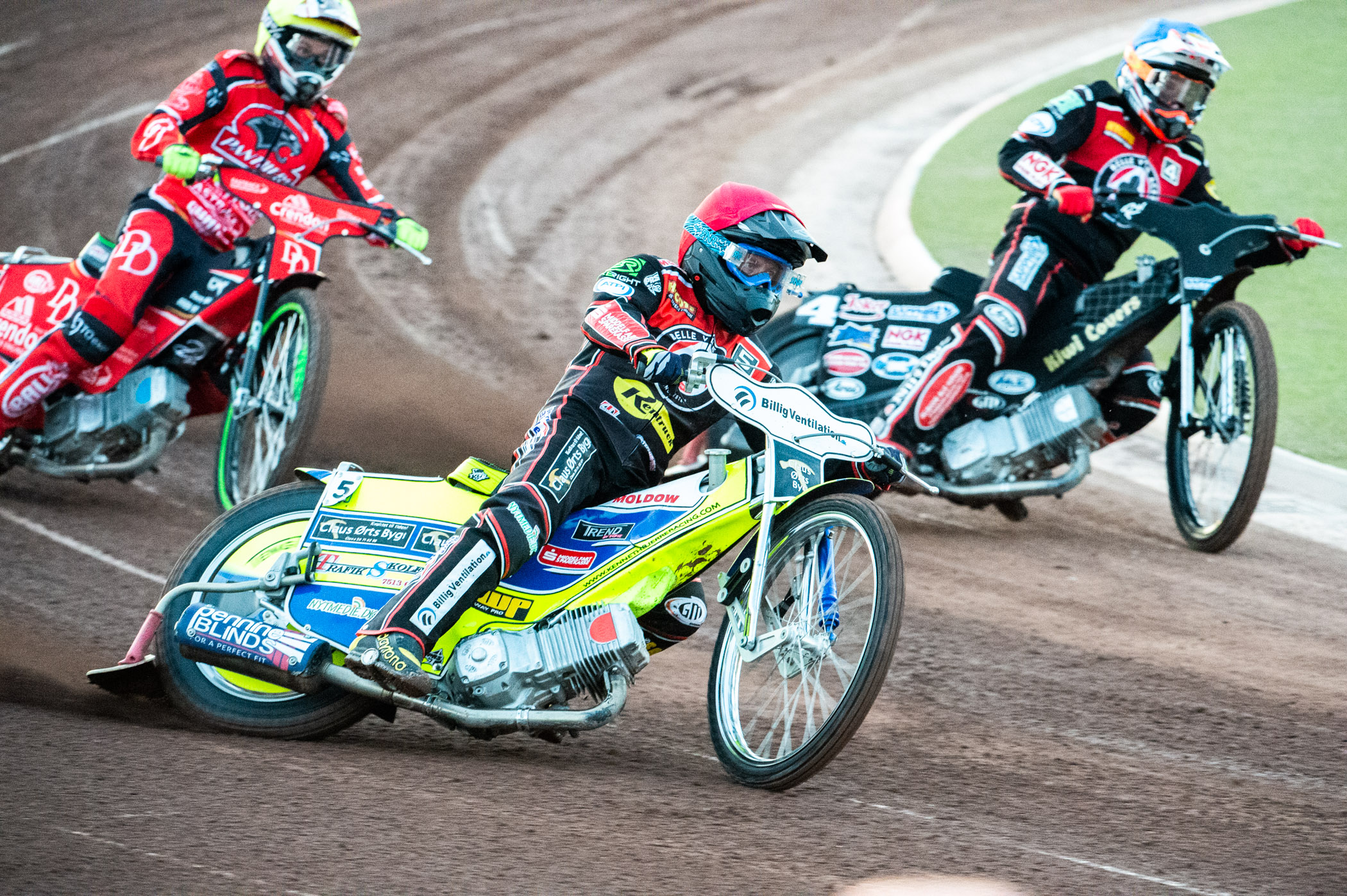 Kenneth Bjerre continued his rich vein of form with 16 points at Ipswich last Thursday