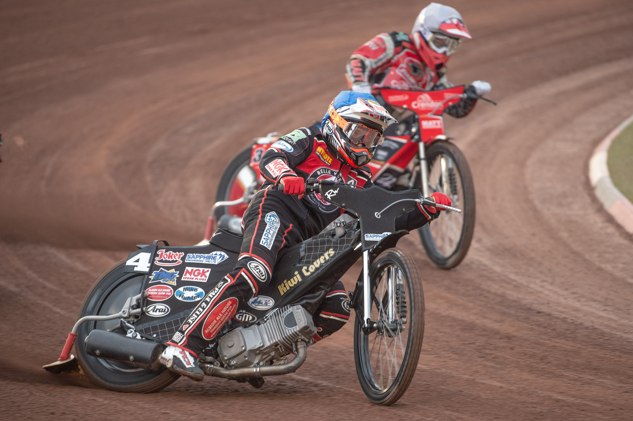 A vital first place for Ricky Wells levelled the score in Heat 3