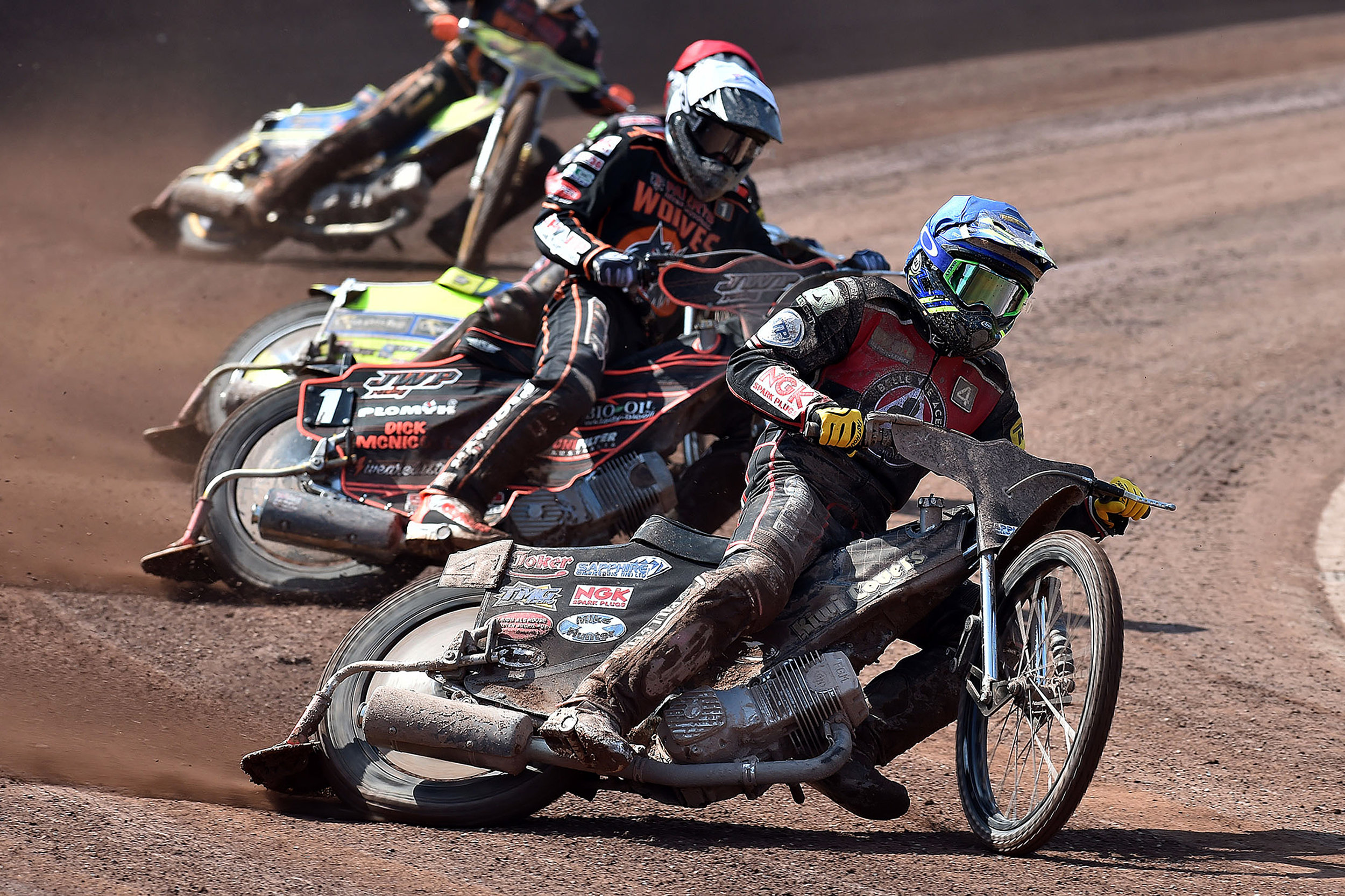 Ricky Wells in action against his former club over the Easter weekend