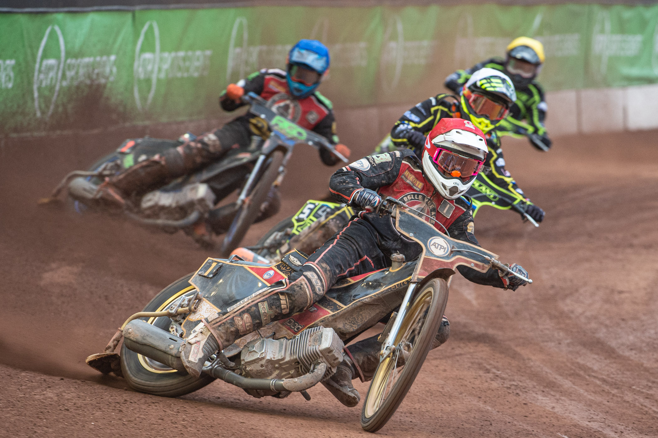A dominant Heat 13 and Heat 15 display from Max Fricke helped turn the meeting in the Aces' favour