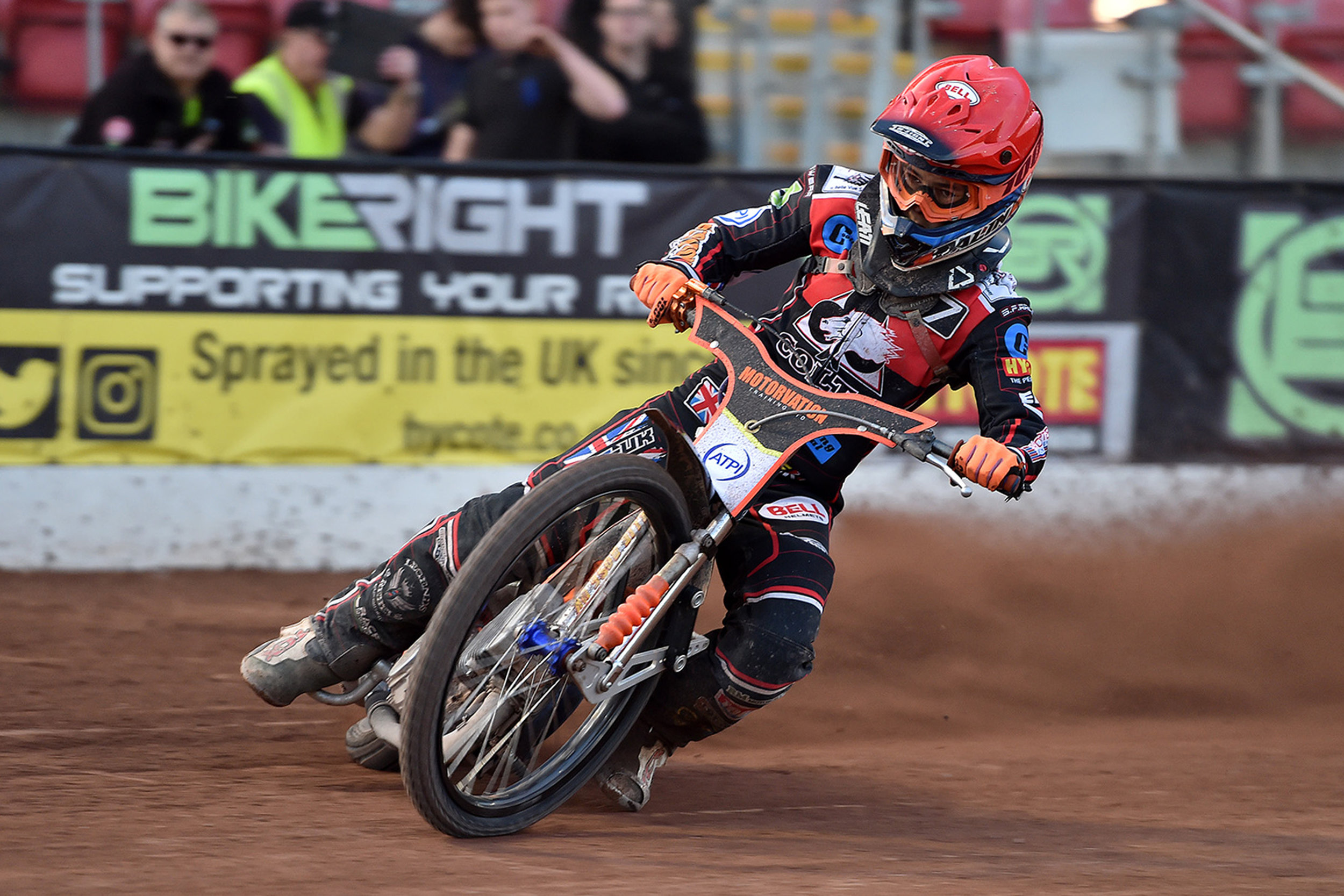 Jordan Palin steps out as the new Belle Vue Colts No.1 on June 20