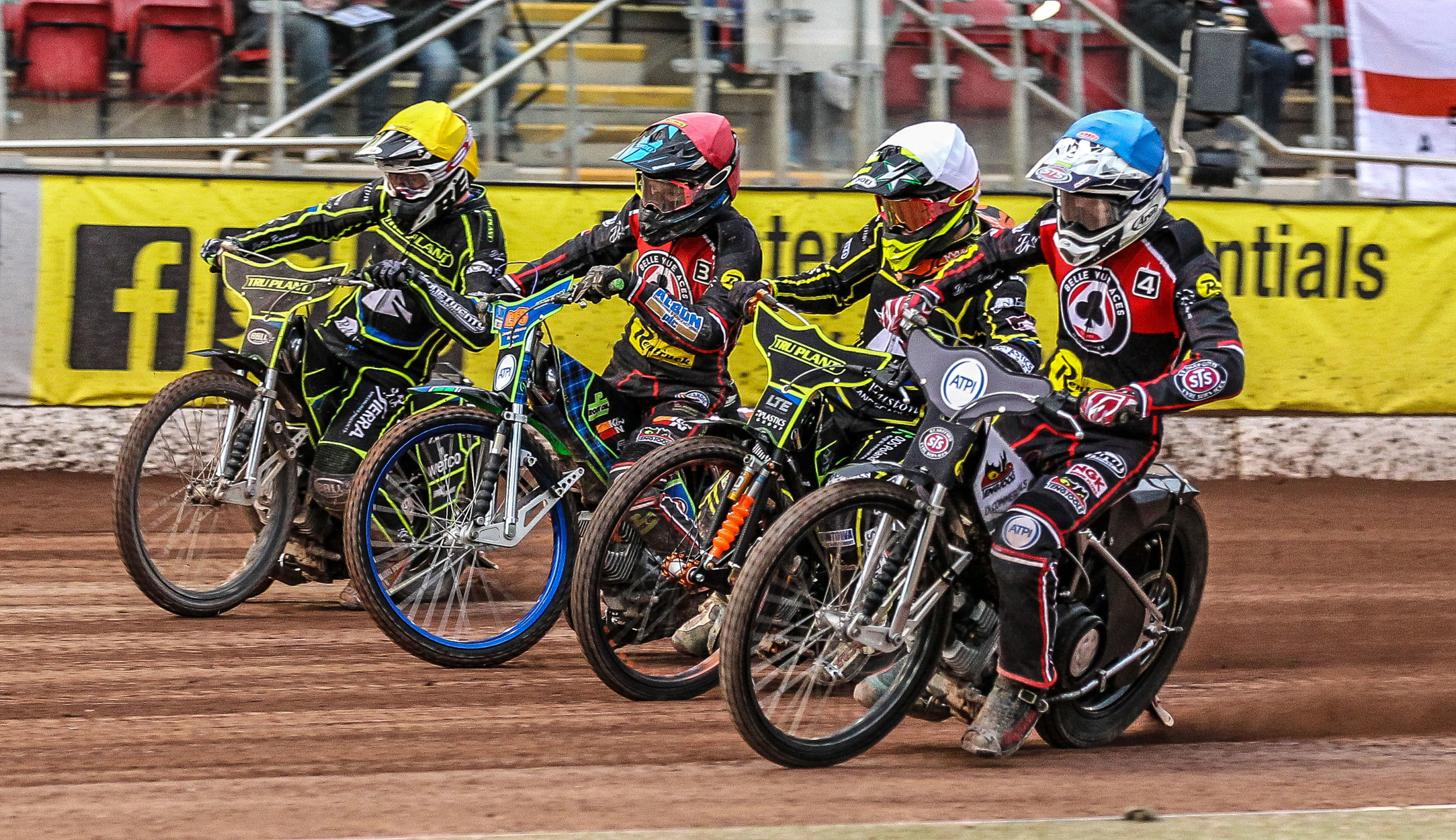Belle Vue only just got the best of Ipswich during their last meeting at the NSS