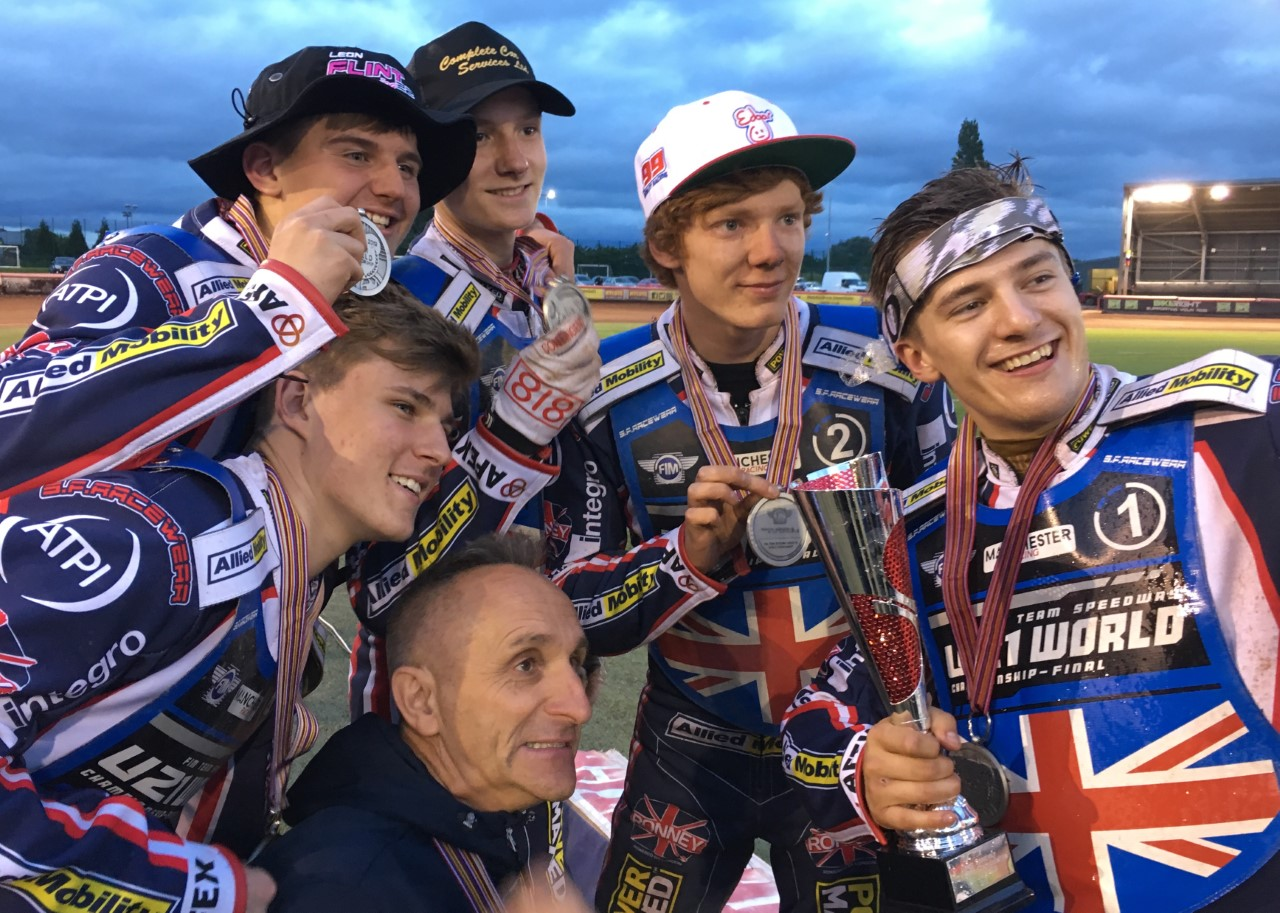 Happy Young Lions! GB took silver at the National Speedway Stadium