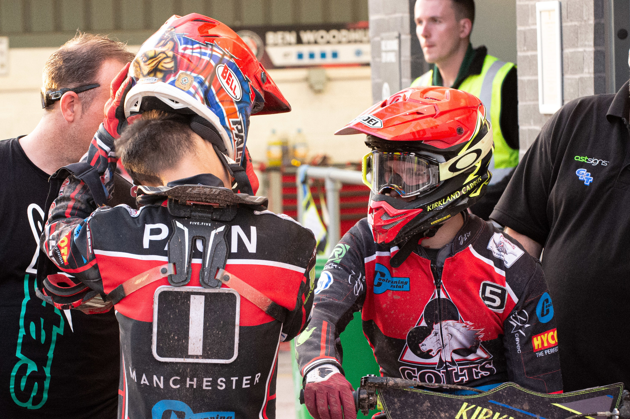 Kyle Bickley says his team can be proud of themselves after a challenging night in Manchester