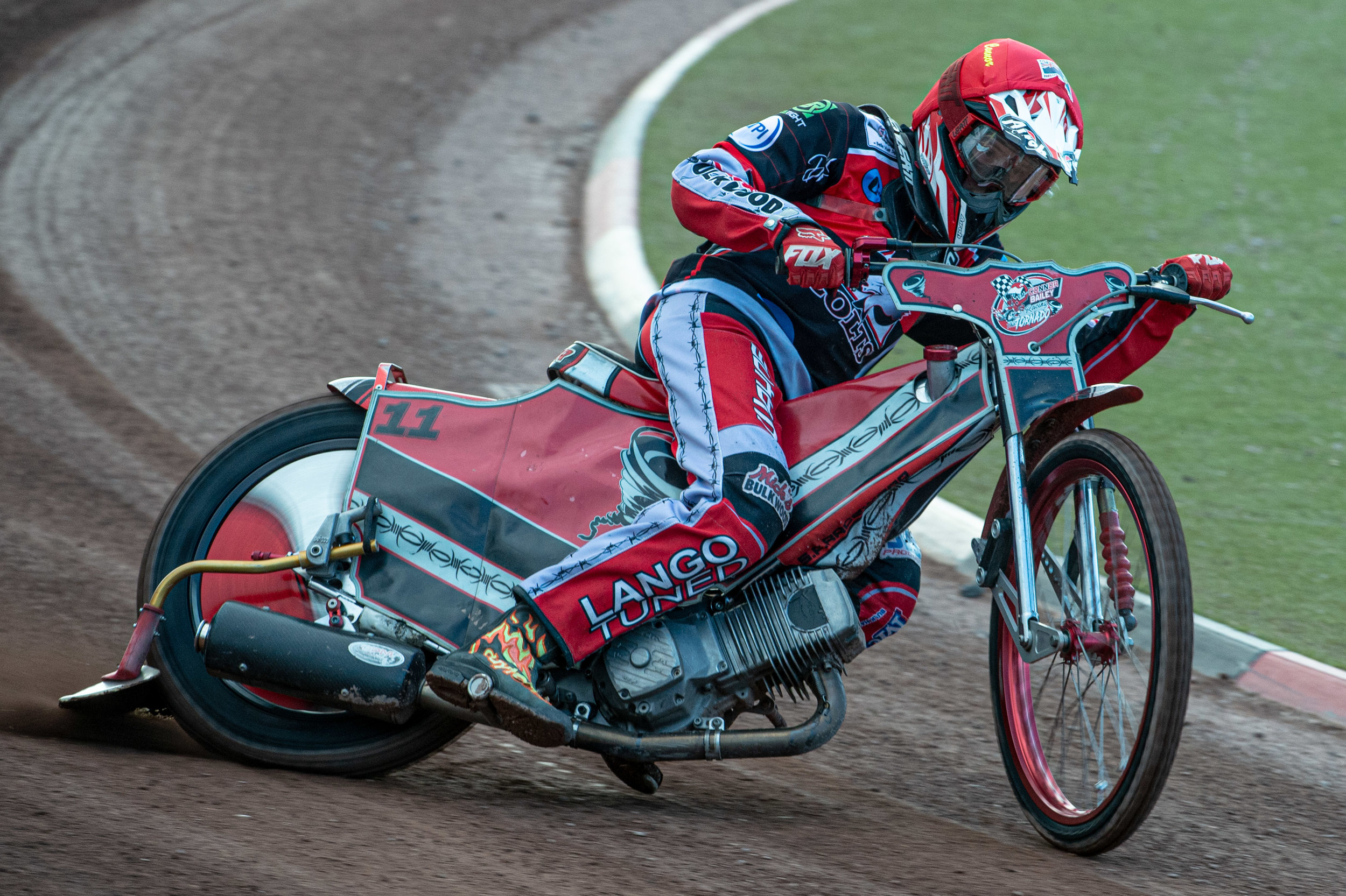 Connor Bailey has settled into life as a Belle Vue Colts
