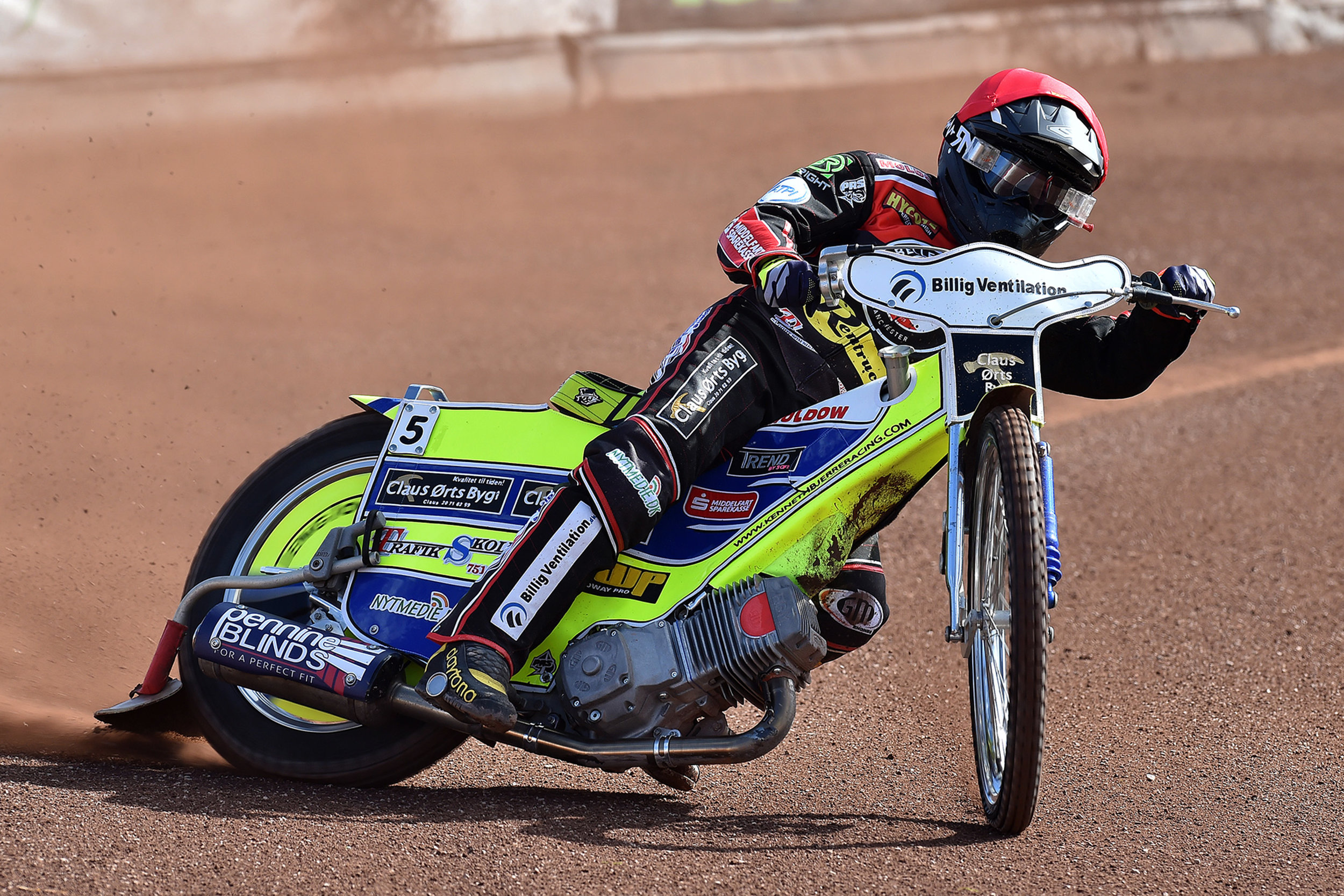 Kenneth Bjerre top scored against his former club with 9+1
