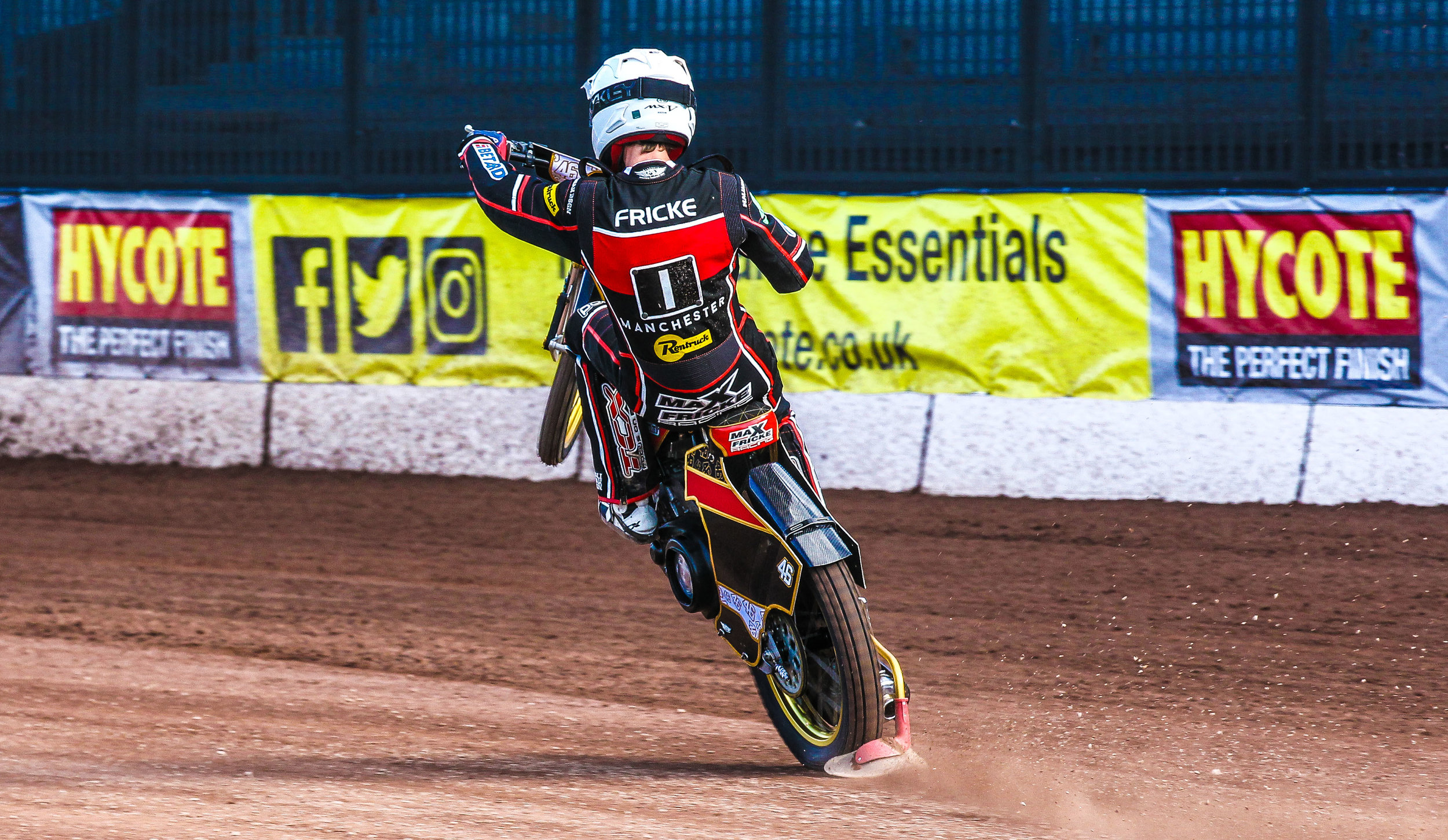 Max Fricke successfully booked his place in the 2020 GP Series at the weekend.