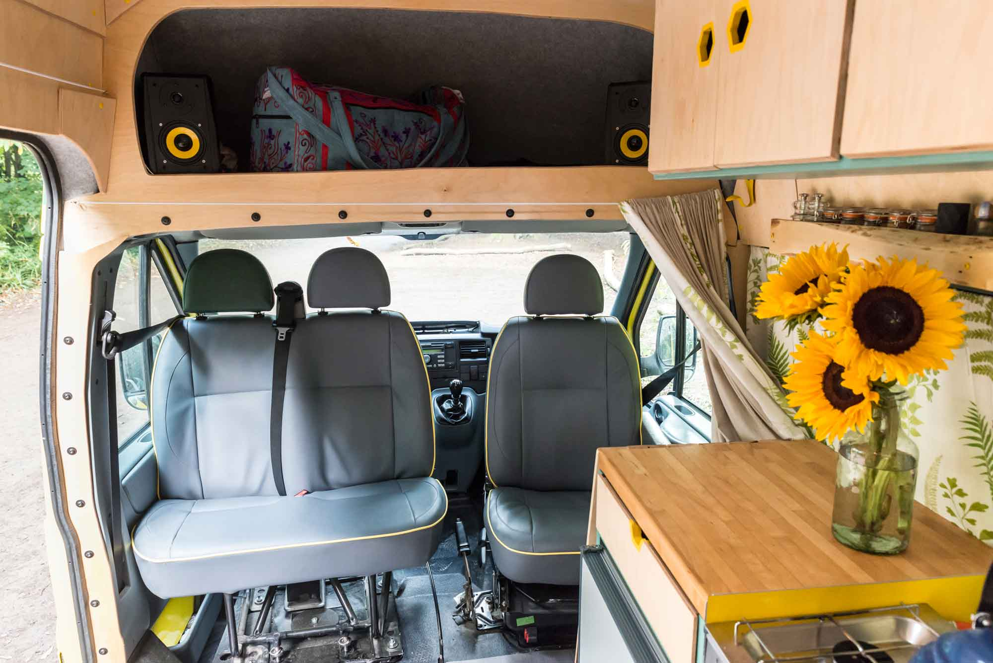 Bespoke auto upholstery service - I will work with my customers in order to ascertain what their vision is for anything from single or double seats, captain seats, door cards, head rests, arm rests, rock n roll beds, cushions and headboards.