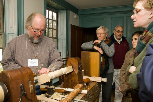 Historic Trade Demonstration: The Fine Craft of Building 17th and 18th Century Furniture