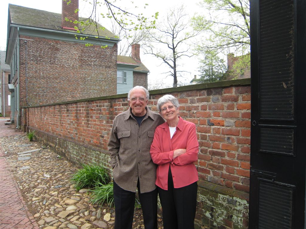 "Michael and Dot  Selinger Moskovis - ""We first visited Historic Deerfield in 1974. And—forgive us for the cliche—were completely blown away with the place. Not only for its storied past, but for the beauty and calming antiquity of the town.Since then, Deerfield has provided us with a host of educational opportunities, expanded our friendship with collectors across the country, and most certainly refined our collecting addiction.Over the years, we've worked with many nonprofit institutions and programs, and we place Deerfield among the top of those organizations, using resources wisely while maintaining a constant focus on its mission.An outstanding Board of Trustees provides wise guidance and support. The professional staff and curators use their intellectual gifts and commitment to continue to place Deerfield among the best of its peer organizations.Even though we aren't able to visit as often as we would like, we remain keenly interested in Historic Deerfield and feel certain that our planned gift will provide valuable ongoing support to this important institution."""