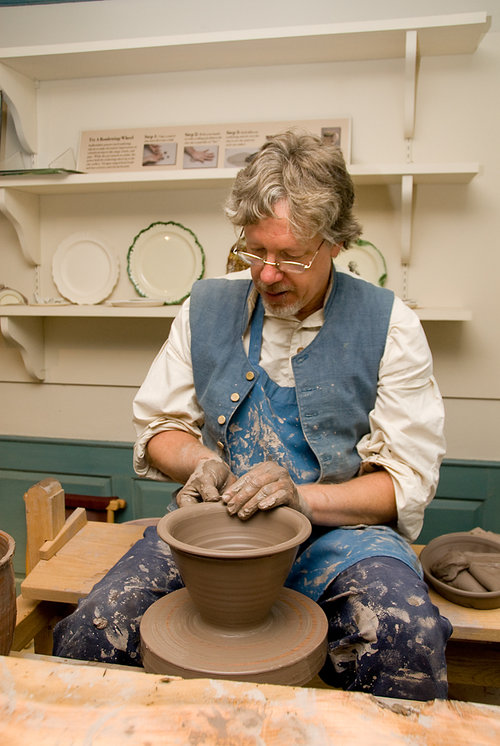 Historic Trade Demonstration: Redware Pottery with Stephen Earp