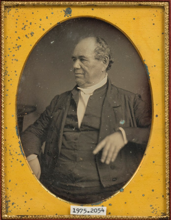 Daguerreotype courtesy of the Brown Co. (WI) Historical Society