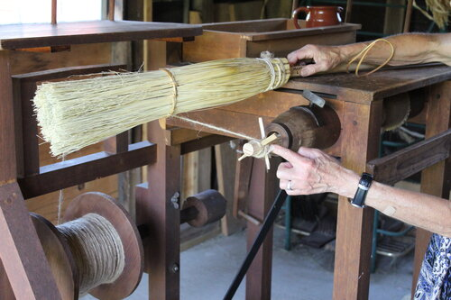 Interpreted Broom Making