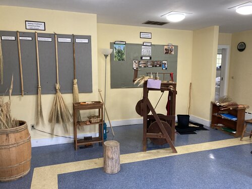 Broom-Making Demonstrations at the History Workshop