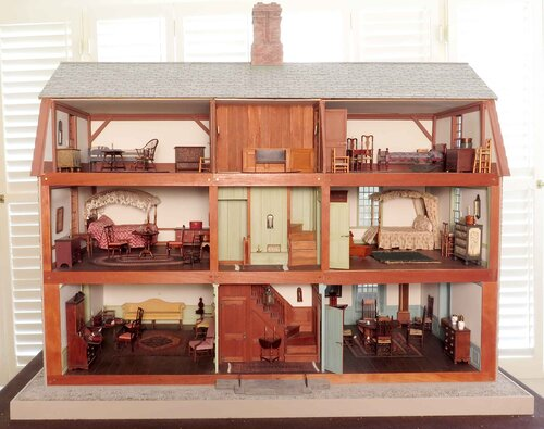 Fun with Miniature Worlds at the History Workshop