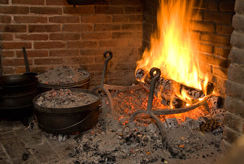 Open Hearth Cooking Demonstration: It's Time for Dinner