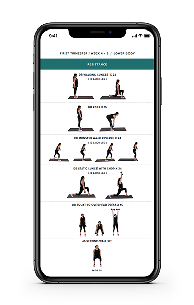 eande_mockup_pregnancy_smaller.png; my favorite products during pregnancy; workouts, expecting and empowered guide